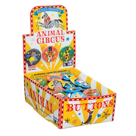 Animal Circus Button Box by Daniel Roode