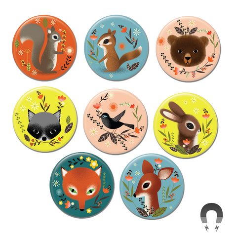 Woodland Animal Big Magnets Bundle