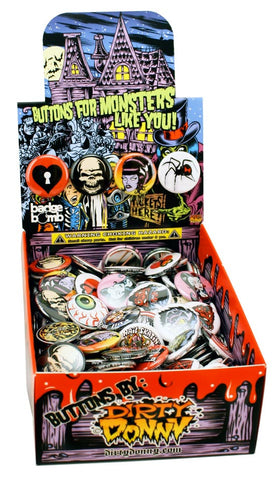 Dirty Donny Monsters Button Box