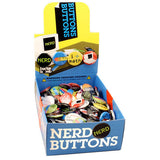 Nerds Buttons - Button Box
