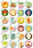 Tree Hugger Buttons by Suzy Ultman