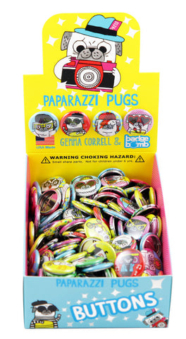 Paparazzi Pugs Button Box