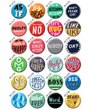 Word Buttons by Ray Fenwick