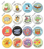 Lil Readers Buttons by Greg Pizzoli