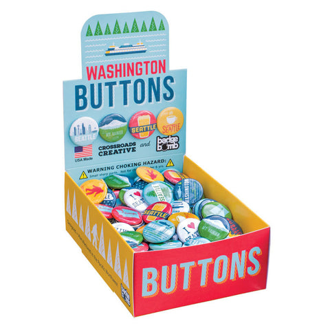 Washington Button Box