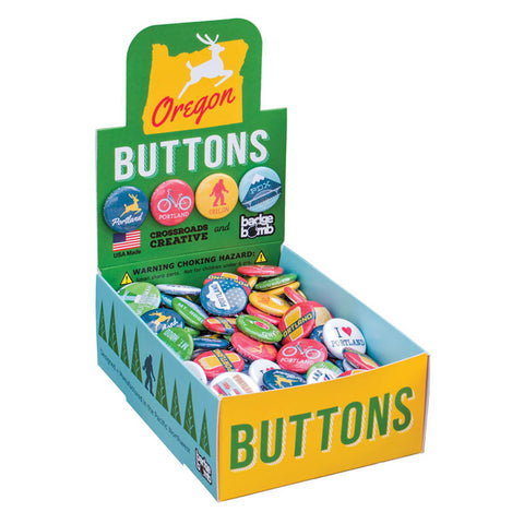 Portland, Oregon Button Box