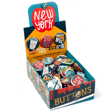 NYC New York Button Box