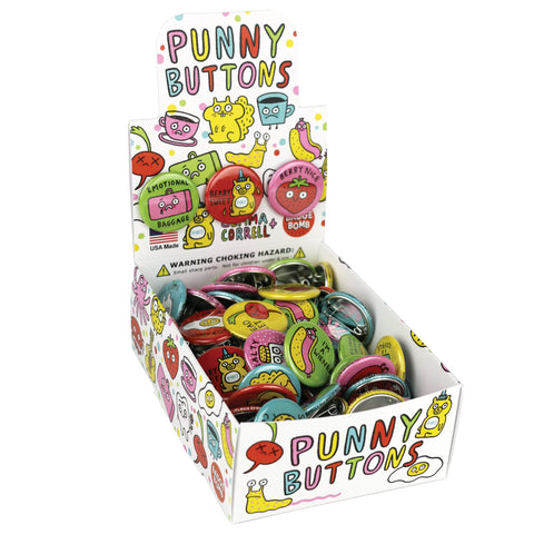 Punny Button Box