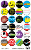 Nerds Buttons by CHetCH