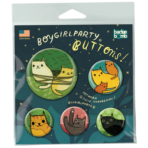 Boygirlparty Button Pack by Badge Bomb