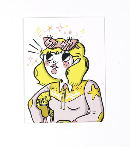 Boss Lady Greeting Card by Tuesday Bassen
