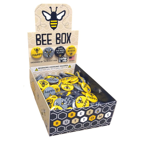 Bee Box Button Box by Seltzer Goods