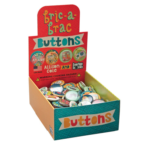 Bric-a-Brac Buttons Button Box by Allison Cole