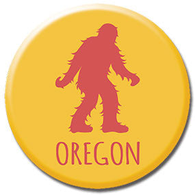 "Oregon Sasquatch 1"" button by Badge Bomb"