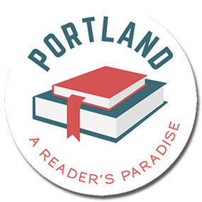 "Portland, A Reader's Paradise 1"" button by Badge Bomb"
