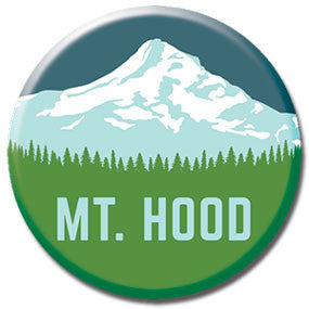 "Mt. Hood 1"" button by Badge Bomb"