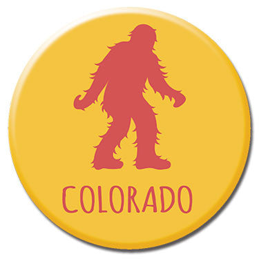 "Colorado Sasquatch 1.25"" Button by Badge Bomb"