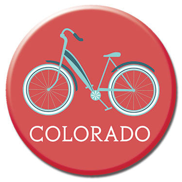 "Colorado Cruiser 1.25"" Button by Badge Bomb"
