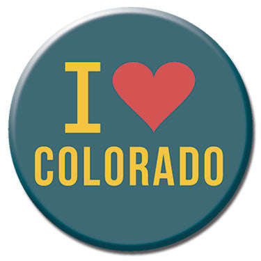"I Heart Colorado 1.25"" Button by Badge Bomb"