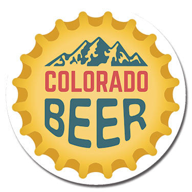 "Colorado Beer 1.25"" Button by Badge Bomb"