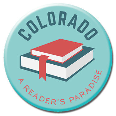 "Colorado A Reader's Paradise 1.25"" Button by Badge Bomb"