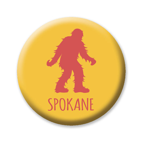 "Spokane Sasquatch 1"" button by Badge Bomb"