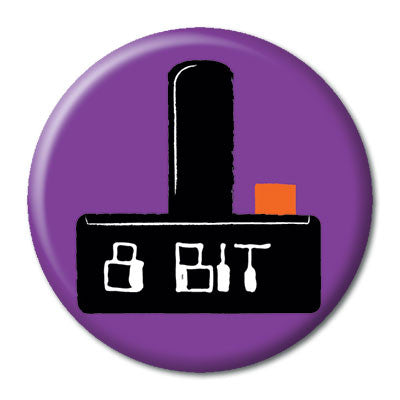 CHetCH Nerd 8 Bit 1 inch Button