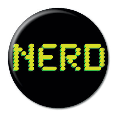 CHetCH Nerd 1 inch Button