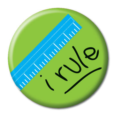CHetCH Nerd I Rule 1 inch Button