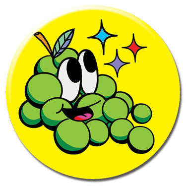 "Grapes 1.25"" Button by Chris Uphues"