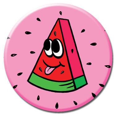 "Watermelon 1.25"" Button by Chris Uphues"