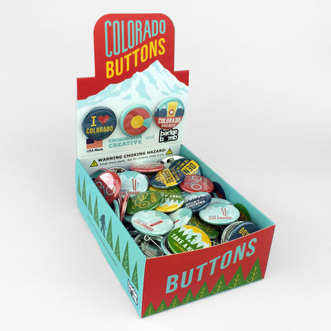Colorado Button Box