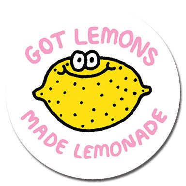 "Got Lemons 1.25"" Button"