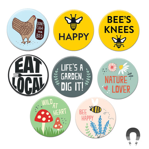 Garden Big Magnets Bundle