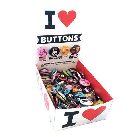 I Heart Buttons Button Box