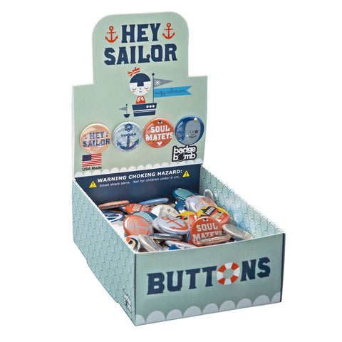 Hey Sailor Button Box