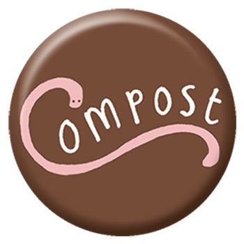 Kate Sutton Compost 1 inch Button