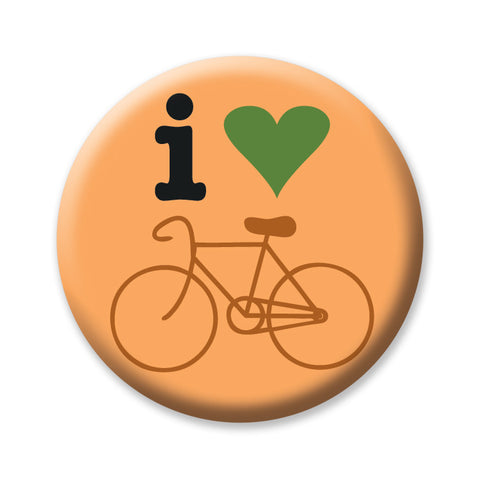 "I Heart Bike Oregon 1"" Button by Badge Bomb"
