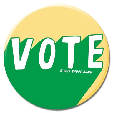 Green Vote Button