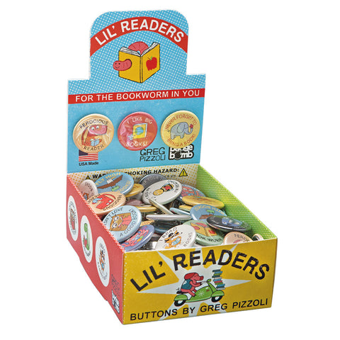 Lil' Readers Button Box