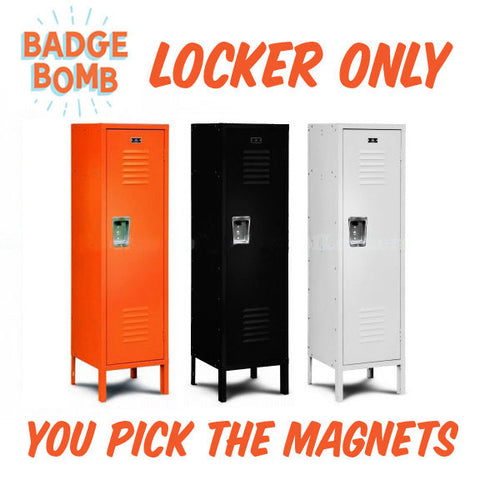 Magnet Display Orange Locker