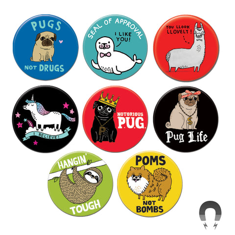 Funny Animals Big Magnet Bundle