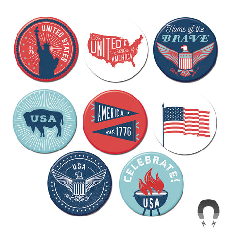 Americana Big Magnets Bundle