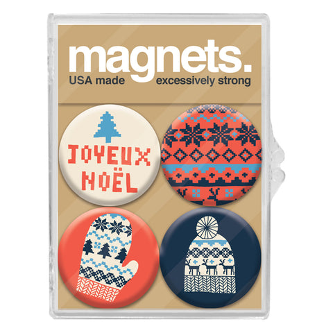 Holiday Magnet Packs by Kate Sutton for Badge Bomb