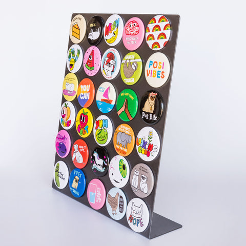 Metal Magnet Counter Display