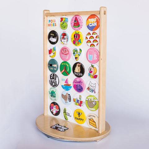 Magnet Spinner Counter Display