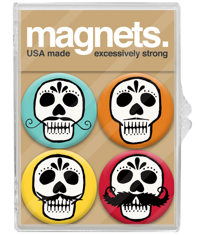 Day of the Dead Magnet Set