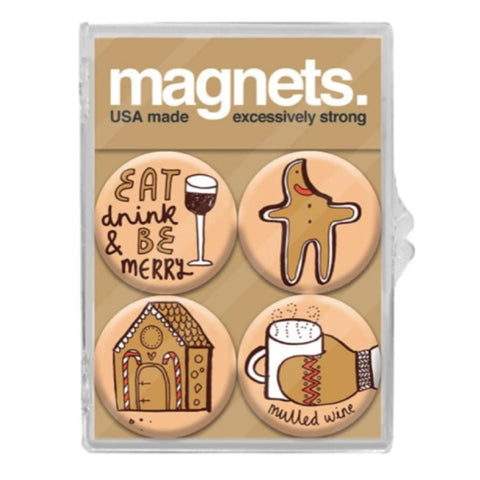Eat Drink and Be Merry Magnet Pack