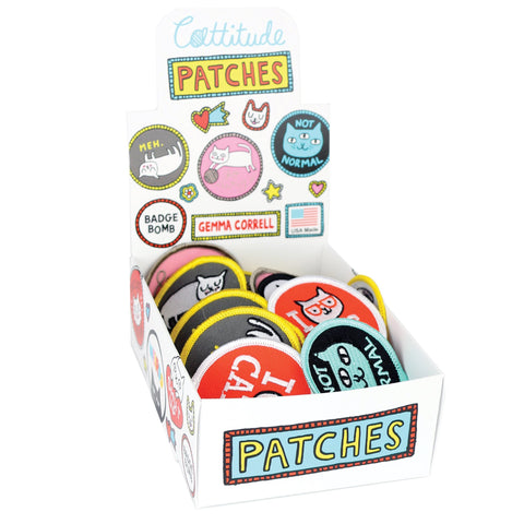 Cattitude Patch Box