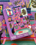 Purrfect Plants 500 Piece Puzzle